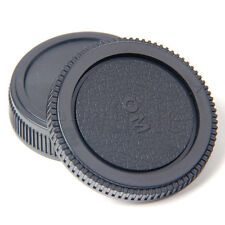 Plastic Set Rear lens Body cap for Olympus Camera OM 4/3 E620 E520 E510 TW