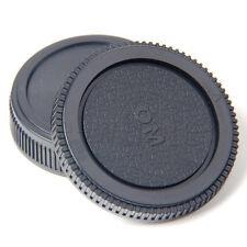 Plastic Set Rear lens Body cap for Olympus Camera OM 4/3 E620 E520 E510 TW