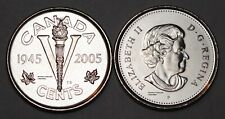 Canada 2005 P Victory 5 cents Nice UNC Five Cents BU Canadian Nickel