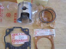 KAWASAKI NOS PISTON & RINGS +1.00mm & GASKETS  C2 C2SS C2TR 13027-011 13024-028