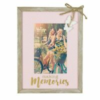 "Vintage Boutique Memories Embellished Wood Photo Frame Suits 4"" x 6"" Photos"