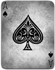 A5 Fridge Magnet - Vintage Ace of Spades Playing Card (Picture Hearts Poker Art)