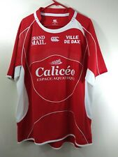 US Dax Canterbury of New Zealand Rugby Jersey 3XL