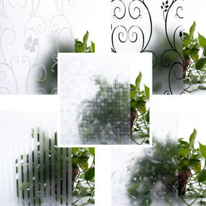 Frosted/3D Window Films for Smooth Glass Surface Office Privacy Decoration