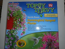 Topsy Turvy upside down butterfly and hummingbird Planter. AS SEEN ON TV.