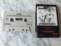 Venom Possessed Cassette Tape 1985 Combat US PRESS! VERY RARE! MXT 8022