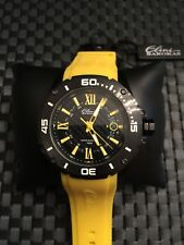 Elini Barokas 10196- Men's Yellow /Black Watch