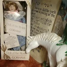 Gorham porcelain doll of the month 1983