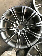 """1x BMW 5 SERIES E60 E61 M SPORT Black  18"""" MV2 STYLE 135 ALLOY WHEEL 8Jx18 EH2"""