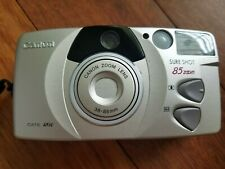 New ListingCanon Sure Shot 85 Zoom Platinum 35mm Point & Shoot Film Camera