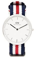 Daniel Wellington Watch * 0606DW Classic Canterbury 36MM NATO Strap COD PayPal