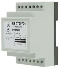 RS Pro 16VA DIN Rail Mount Transformer, 230V ac Primary 2 x, 12V ac Secondary