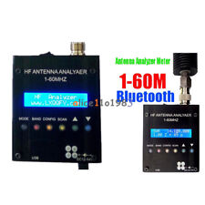 MR300 Bluetooth Digital Shortwave Antenna Analyzer Meter Tester 1-60M Ham Radio