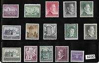 Unused Stamps Third Reich occupation of Poland during WWII General Government