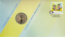 Coin Australia $1 proof Olympic Games London sailing 2012 post office cover Pnc