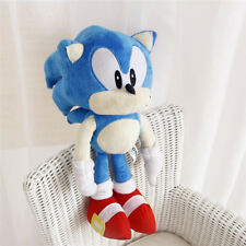 "New Sonic the Hedgehog Large 16"" Plush Doll Blue Stuffed Toy Kids Gift"