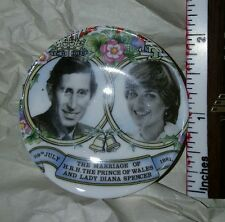 THEIR ROYAL HIGHNESSES THE PRINCE AND PRINCESS OF WALES Miniature Plate NIB