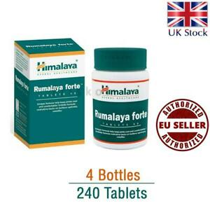 4 x Himalaya Herbal Rumalaya Forte Support in Joint Back Pain Frozen Shoulder