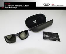 Audi Original Sonnenbrille schwarz, graue Gläser 3111900200 Audi Sport
