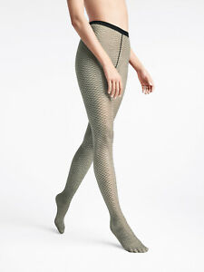 WOLFORD Diamond Snake 3D Effect 20 DEN Tights Size S Matte Sheer Look