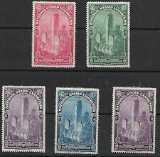 National Stamp Exposition 5 poster stamps 1934, Cinderella, Rockefeller Center