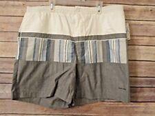 Vintage Pierre Cardin Swim Shorts Trunks Grey Sz L NWT