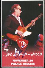 Joe Bonamassa autographed gig poster