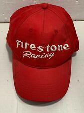 Buddy Lazier Signed Firestone Racing  Adjustable Hat