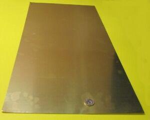 """260 Brass Flat Sheet .010"""" Thick x 12.0"""" Wide x 24.0""""  Length"""