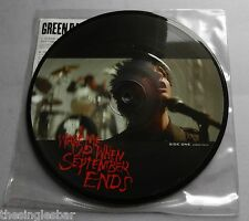 "Green Day - Wake Me Up When September Ends 2005 Picture Disc 7"" Single"