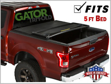Gator ETX Tri-Fold (fits) 2019 Ford Ranger 5 FT Tonneau Bed Cover