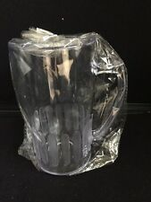 Clear Polycarbonate Tankards Set of 8 Home Bar Pub man cave