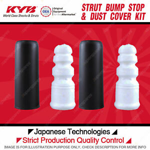 2x Rear KYB Strut Bump Stop + Dust Cover Kits for Audi A4 B8 A6 C7 Q5 FWD 8R AWD