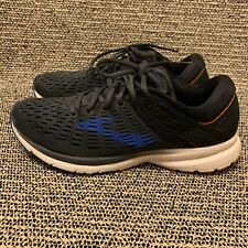 Brooks Ravenna 9 Grey/Orange/Blue Men's Athletic Running Shoes Size 9.5