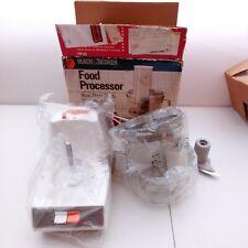 GE General Electric Vintage Food Processor FP1D Shredder/Slicer/Chopper Open Box