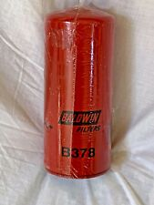 Baldwin B378 Industrial Lube Spin-On Filter New in Plastic Made in USA