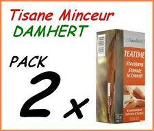 2 BOITE TISANE MINCEUR LAXATIVE REGIME DETOX MAIGRIR VITE -13 KG / DAMHERT