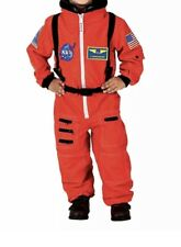 Aeromax Jr. Astronaut Suit with Embroidered Cap and NASA patches ORANGE 6-8 NWT