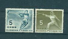 LAANCIO DEL MARTELLO & SCHERMA - HAMMER TROW & FENCING JAPAN 1959