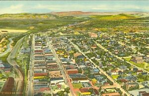 Gallup, NM An Air View of Gallup