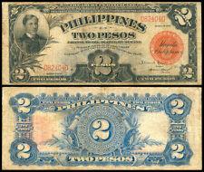 1936 US Philippines 2 Pesos Treasury Certificate Banknote #2