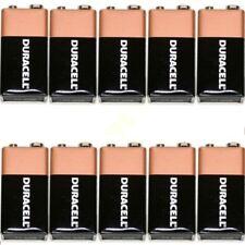 10 x Duracell 9V DURALOCK Batteries MN1604 6LR61 PP3 DATE 2019 oem