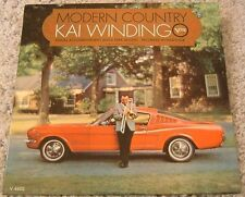 """Album By Kai Winding, """"Modern Country"""" on Verve"""