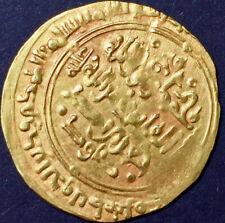 Great Seljuk Empire gold dinar Alp Arslan AH 450-55 / AD 1058-63 XF Marw Mint