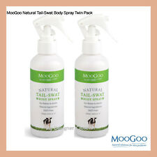 MooGoo Tail-Swat Body Spray 200mL Twin Pack 4 Babies & Adults DEET Free Moo Goo