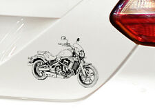 Vulcan S Cafe Auto Motorrad Aufkleber Sticker