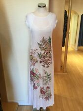 Aldo Martins Dress Size 10 BNWT Winter White Pink Green RRP £218 Now £65