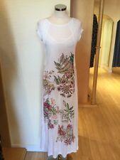 Aldo Martins Dress Size 10 BNWT Winter White Pink Green RRP £218 Now £85