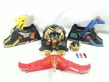 Mighty Morphin Power Rangers Mmpr Thunderzord Assault Team Zords Figure Lot 1994