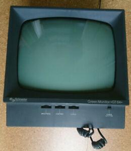 GT 64 Monitor und Netzteil für den Schneider CPC 464 (ähnlich Amstrad)